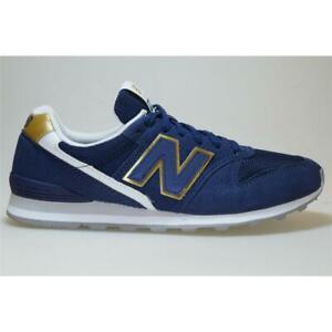 Details zu New Balance WL 996 CF blau/gold Schuhe Sneaker Frauen  766981-50-10