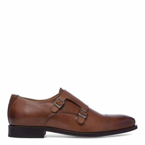 Tan Sweeney Double Shoes Buckle Oliver Men's Monk Fastening Leather Milfontes qExgRCF