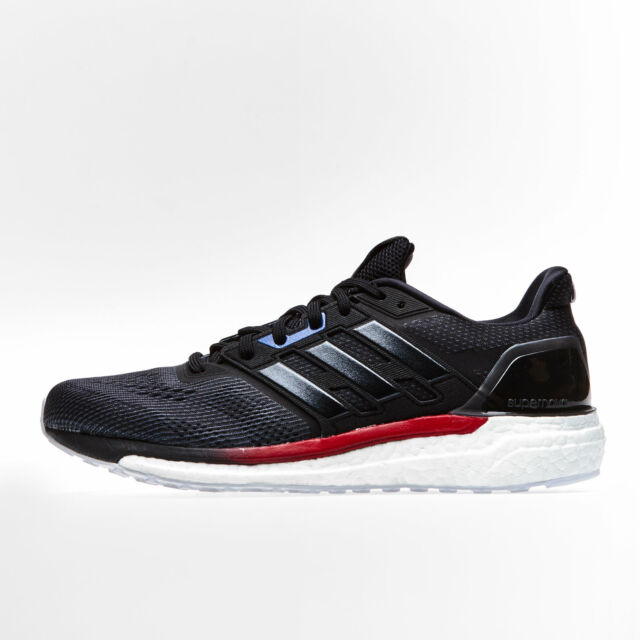 eb5c3ca58476c adidas Supernova Aktiv Black Red Men Running Shoes SNEAKERS Trainers ...