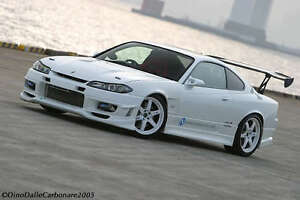 nissan silvia s15 trial style front bumper | ebay