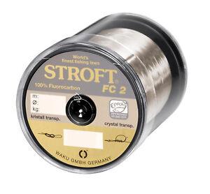 WAKU Schnur STROFT Fluor Monofile 500m