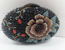 Multi Color~New Handmade Austria Crystal Bridal/Evening Purse Clutch Bag