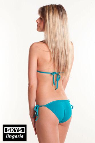OLYMPE  Maillot de bain TRIKINI coloris bleu Skys Lingerie taille XS//S  S//M  M//L
