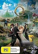 OZ THE GREAT AND POWERFUL DVD - James Franco, Mila Kunis (Region 4)  *BRAND NEW*