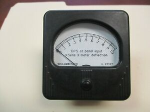 Schlumberger-Simpson-H-23327-Vintage-CPS-Sens-X-Meter-Deflection