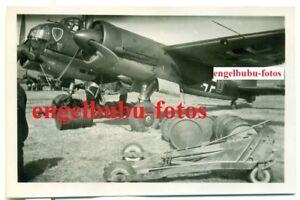 FOTO-FLUGZEUG-JU-88-KAMPFGESCHWADER-STAFFELWAPPEN-NORWEGEN-OSLO
