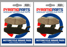 Peugeot 300 Geostyle (Nissin cal.) 2010 Front & Rear Brake Pads (2 Pairs)