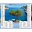 Calendrier-2021-La-Poste-Almanachs-PTT-35-References-Divers-Animaux-Paysages miniature 38