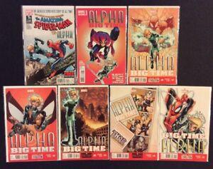 ALPHA BIG TIME #1 - 5 Comics #1 SIGNED Humberto RAMOS COA Amazing Spider-Man 694