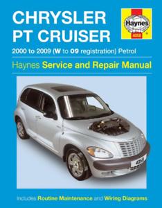 research.unir.net Haynes Workshop Manual Chrysler PT Cruiser 2000 ...