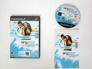 Singstar-Pop-game-for-Sony-Playstation-2-PS2-Complete