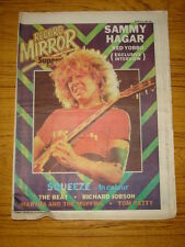 RECORD MIRROR 1980 MAR 15 SQUEEZE THE BEAT SAMMY HAGAR