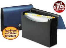 Expanding File Folder Pockets Document Storage Organizer Tabs A4 Letter Size Bag
