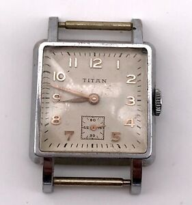 2019 Mode Titan Vintage Hand Manuell Wicklung Uhren Uhr Seil Nicht Funktionstüchtig 23,5 Geeignet FüR MäNner, Frauen Und Kinder
