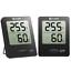 Tragbares Hydrometer Habor 2 Stück Hygrometer Innen Digital Thermometer