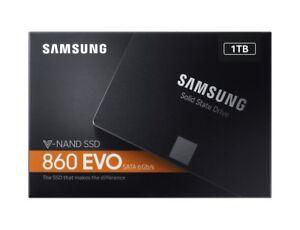 *NEW Samsung 860 EVO 1TB MZ-76E1T0B Flash SSD