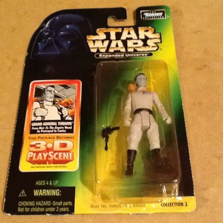 Kenner Star Wars Expanded Expanded Expanded Universe Grand Admiral Thrawn figure cf3f70