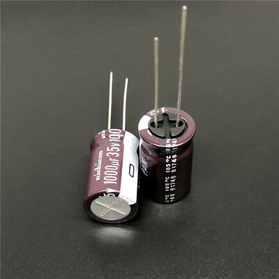 10uf 35V X20 Mini RADIAL ELECTROLYTIC CAPACITOR