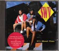 SWV - It's About Time - CDA - 1992 - RnB Swing Weak I'm So Into You Right Here