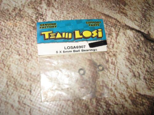 6907 2 RC Losi Racing Grade Ball Bearing Bearings 5 x 8 mm