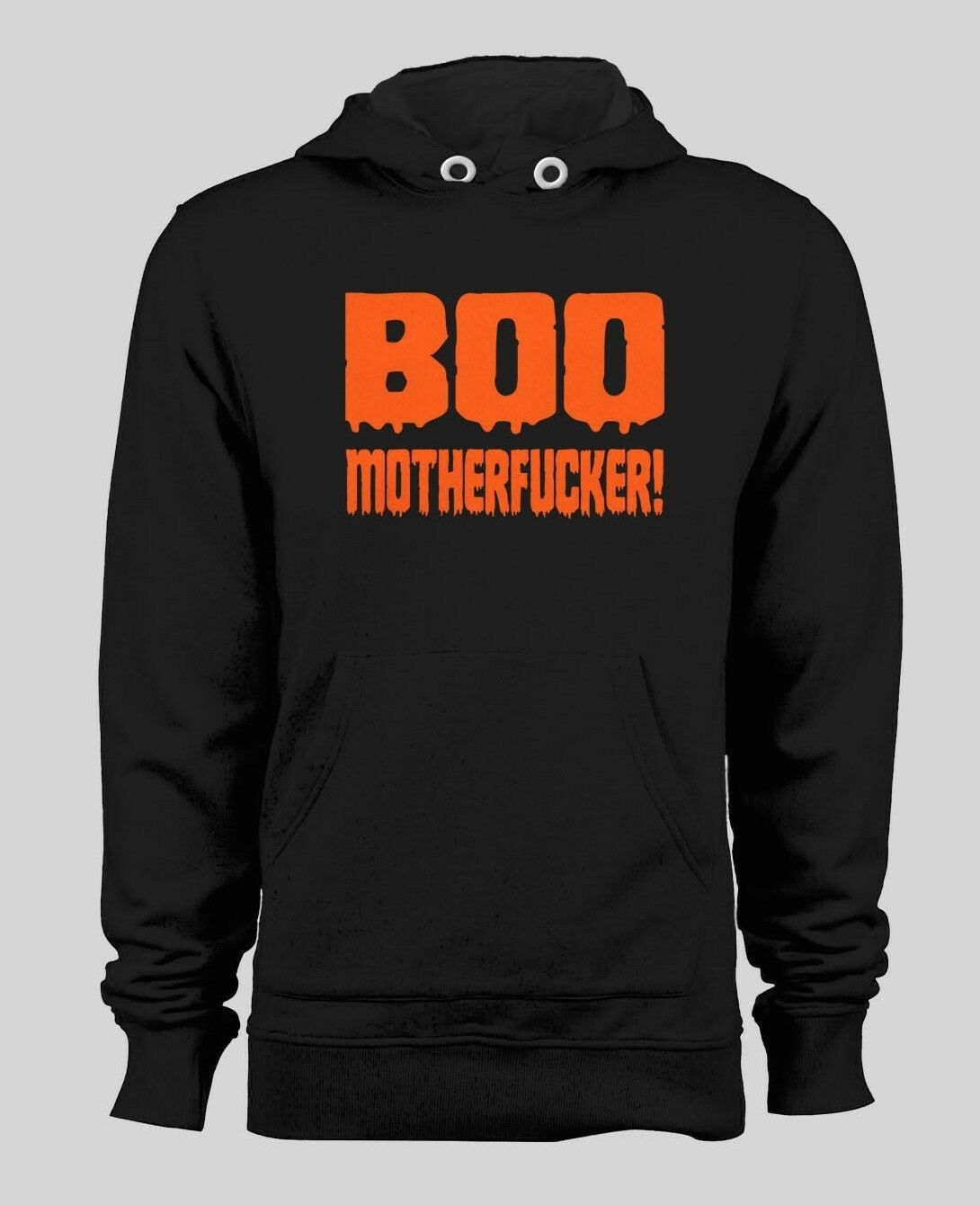 BOO MOTHERFUKER CUSTOM HALLOWEEN HOODIE MANY COLOR AND SIZE OPTIONS