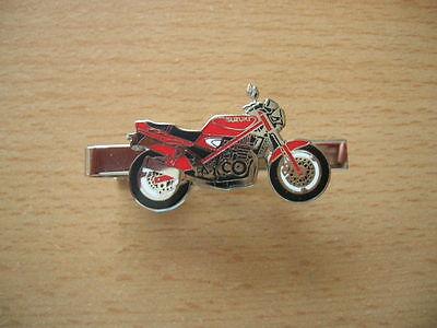 Krawattenklammer Suzuki GSF 400 / GSF400 Bandit rot red Art. 0150  Motorrad Moto
