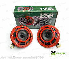 Xtreme B&B Vibro Sonic Red Horn Set For Bajaj Pulsar 180