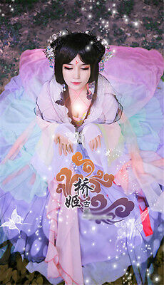 Mary Sue Cosplay Butterfly Personific Chinese Ancient Costume Colorful Dress