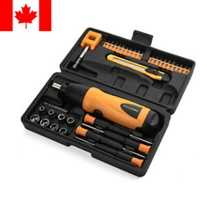PrimeCables-37in1-Portable-Cordless-Electric-Screwdriver-Drill-6V-Battery-Power