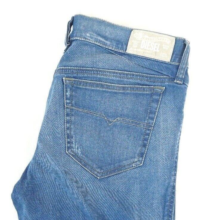 NWT DIESEL Women's Med. Wash 0R610 Getlegg Distressed Slim Skinny Jeans 31 x 31