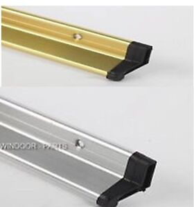 Image Is Loading RAIN DEFLECTOR WEATHER BAR DOOR DRIP CHROME GOLD