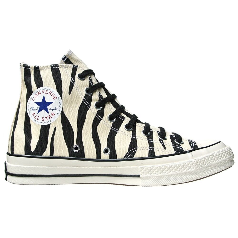 CONVERSE SCHUHE ALL STAR CHUCKS UK SCHWARZ 4,5 EU 37 ZEBRA SCHWARZ UK WEIß LIMITED EDITION 126712