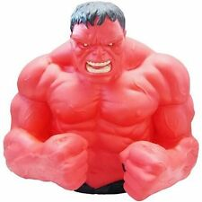 Marvel Comics Red Incredible Angry Hulk Muscle Beast Bust Super Hero Money Bank