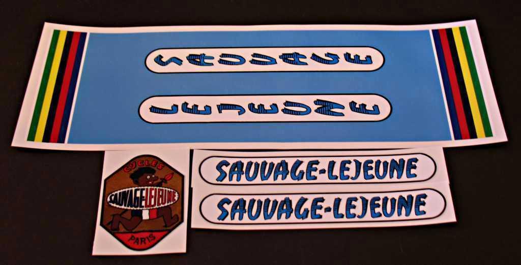 LeJeune Sauvage Bicycle Decal Set (sku Leje-S102)