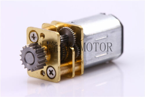 DC 6V 12V 67RPM N20 Mini Gear Motor Micro Gearbox For 3D Smart Printing Pen