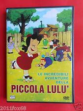 film,dvds,cartoons,le incredibili avventure della piccola lulù,cartoni animati,z