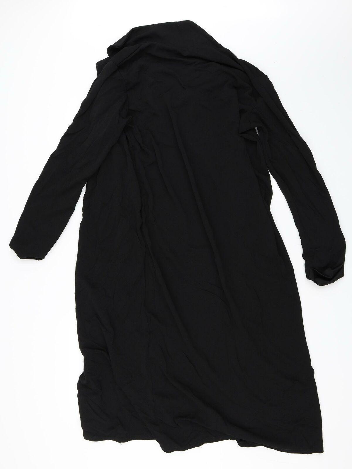 Boohoo Womens Black Jacket Size 18