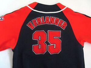 sale retailer 6076b b535c Details about JUSTIN VERLANDER Jersey - MLB Detroit Tigers - Stitched -  True Fan - Boys M