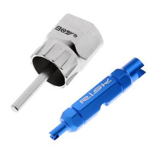Bike Freewheel Chain Whip Sprocket Lock Lockring Remover Tool Kit Cassette Sport
