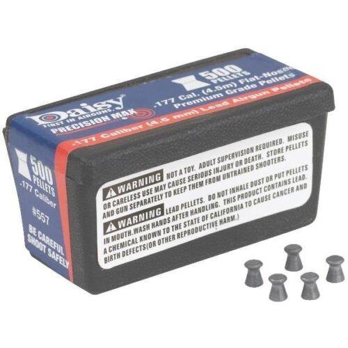 500//BOX DAISY .177 CAL QUICKSILVER AMMO PELLETS CASE OF 12 BOXES