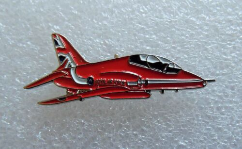 Set of 4 Red Arrows Hawk enamel pin badges Air Force Air Display Team