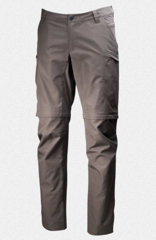 Lundhags Nybo Off Zip Off Nybo Pant Men  Herrenhose mit Zip Off Funktion  tea Grün 74d2e1