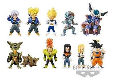 BANPRESTO Dragon Ball SUPER World Collectible Figure BURST ALL 9 type sets