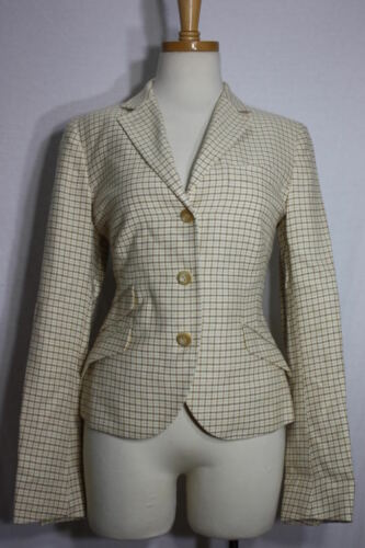 Checkered New In Made Italy 42 Jacket Luciano Barbera Wqn4wvfzI