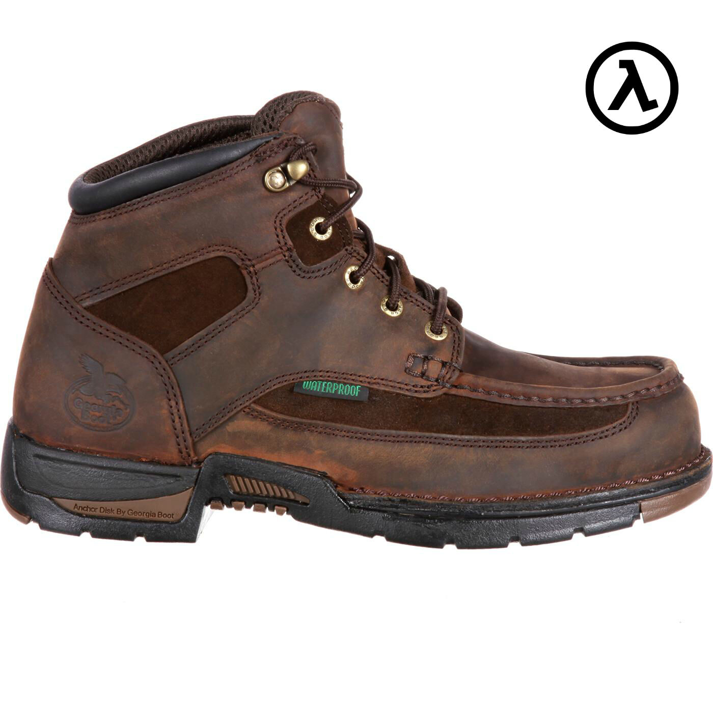 GEORGIA ATHENS STEEL TOE WATERPROOF WORK BOOTS G7603 * ALL SIZES - NEW