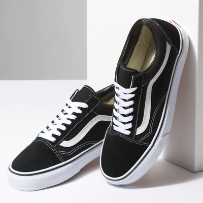 White Lace-Up Low Top Skate Shoes Mens