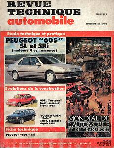 Suivi Des Vols Rta Revue Technique L'expert Automobile N° 519 Peugeot 605 Sl Sri ProcéDéS De Teinture Minutieux