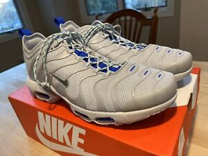Details about Nike Air Max Plus TN Ultra - Mint Worn Twice - Mens 10 - Pure Platinum/Cool Grey
