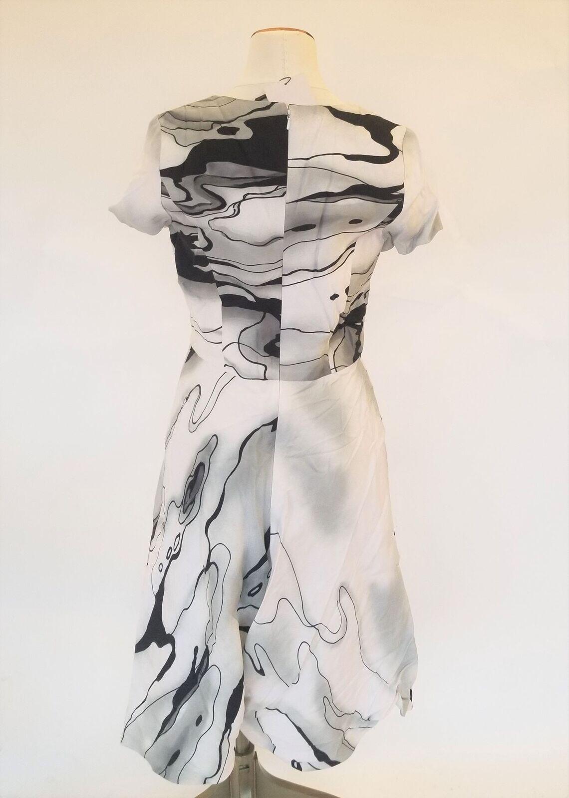 Carolina Herrera Herrera Herrera Marble Print Dress 5753b2