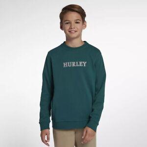$40 BRAND NEW HURLEY BOY/'S KIDS YOUTH HOODIE SWEATSHIRT PULLOVER MAROON